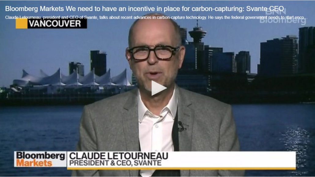 BNN Bloomberg Svante Interview with Claude Letourneau, President & CEO