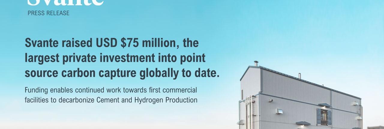 svante-raises-75-million-to-decarbonize-cement-and-hydrogen-production